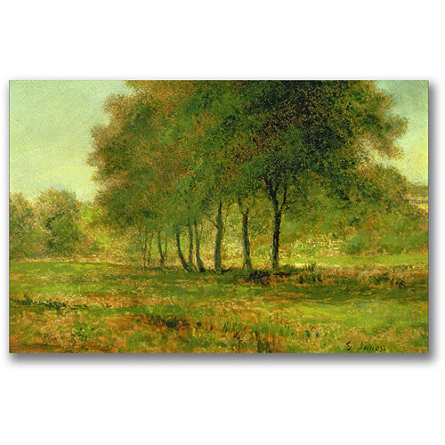 "Trademark Fine Art ""Summer"" Canvas Wall Art by George Inness"
