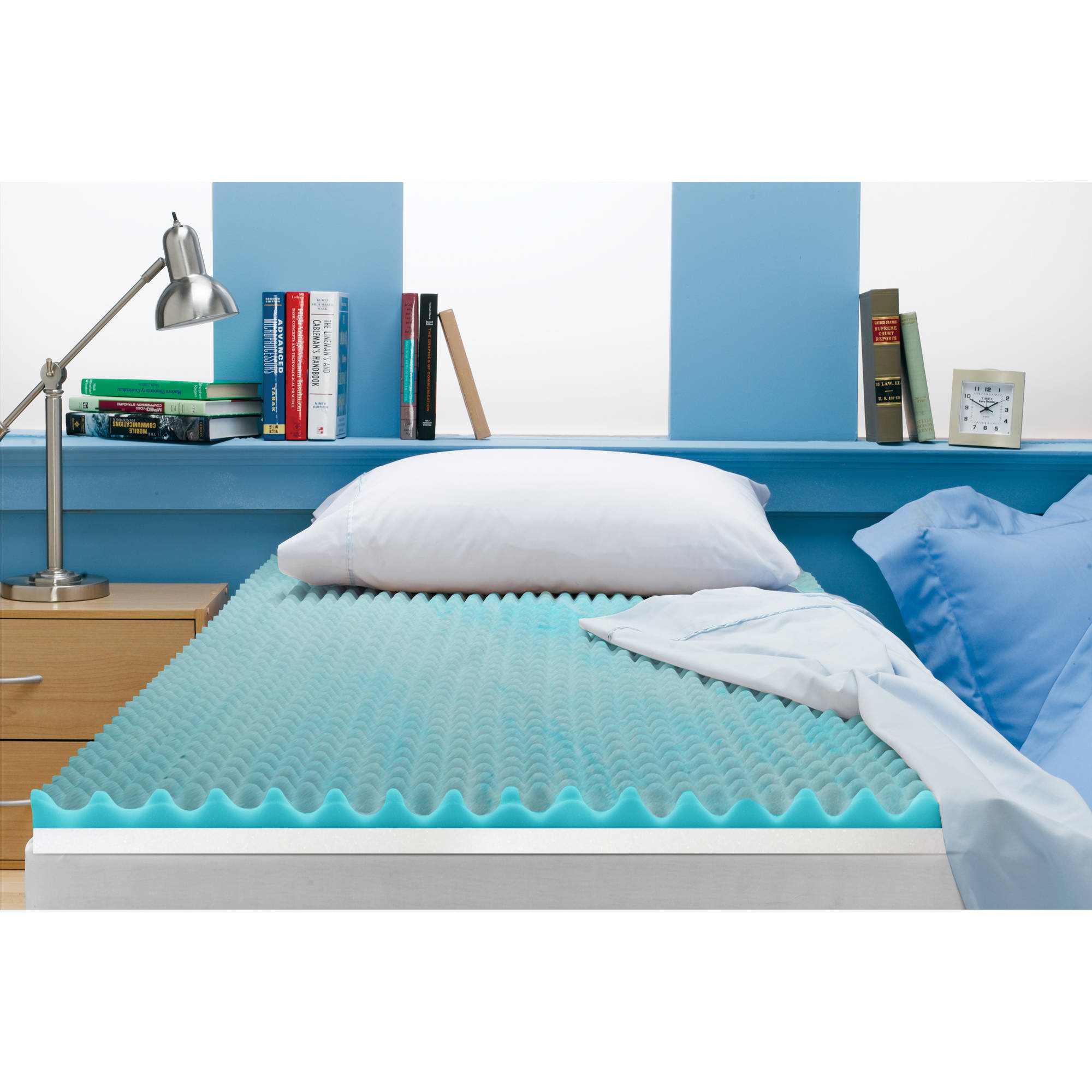Beautyrest 3 inch Reversible Memory Foam Topper in Multiple Sizes