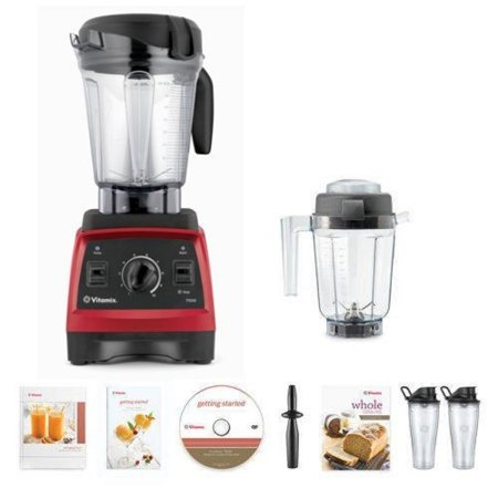 Vitamix 7500 Blender Super Package, with 32oz Dry Grain Jar and 2- 20oz To-Go Cups