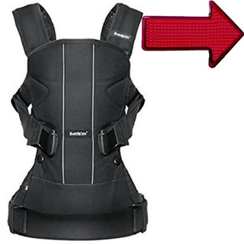 Baby Bjorn 093025USK1 Baby Carrier One Air Black with Safety Reflector Light by BabyBj%C3%B6rn