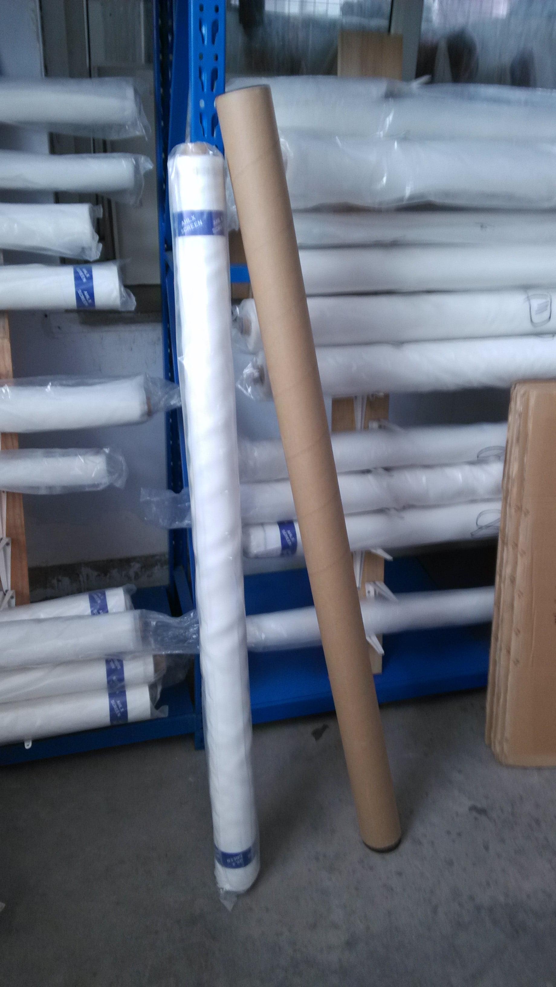 "25 White x 63/"" Width Silk Screen Printing Mesh Fabric 3 yards"