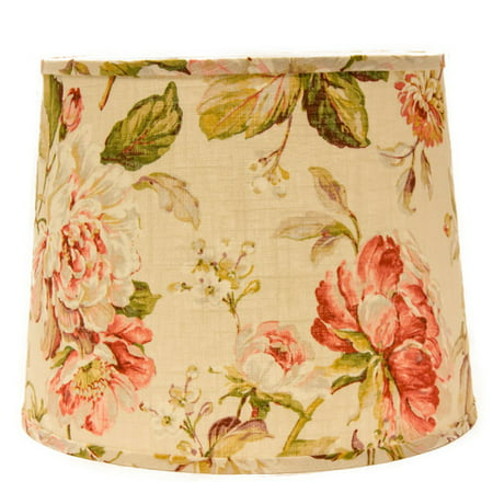 "Image of AHS Lighting 16"" Linen Drum Lamp Shade"