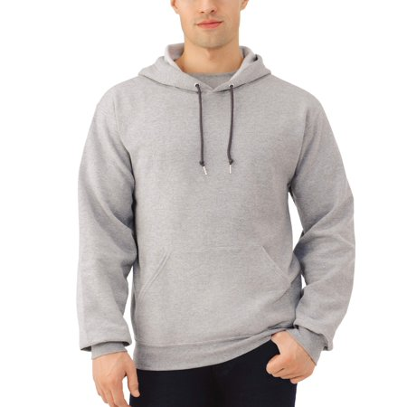 Fruit of the Loom Men's EverSoft Fleece Pullover Hoodie Sweatshirt ()