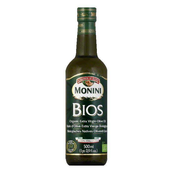 MONINI Extra Virgin Olive Oil Olibios, 17 OZ (Pack of 6)