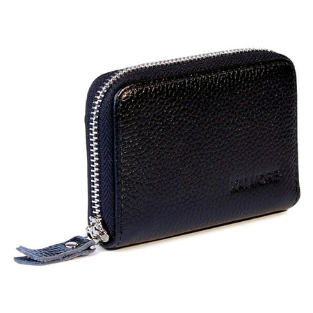 cbe16ff7153c Women's Genuine Leather Credit Card Holder RFID Secure Spacious Cute ...