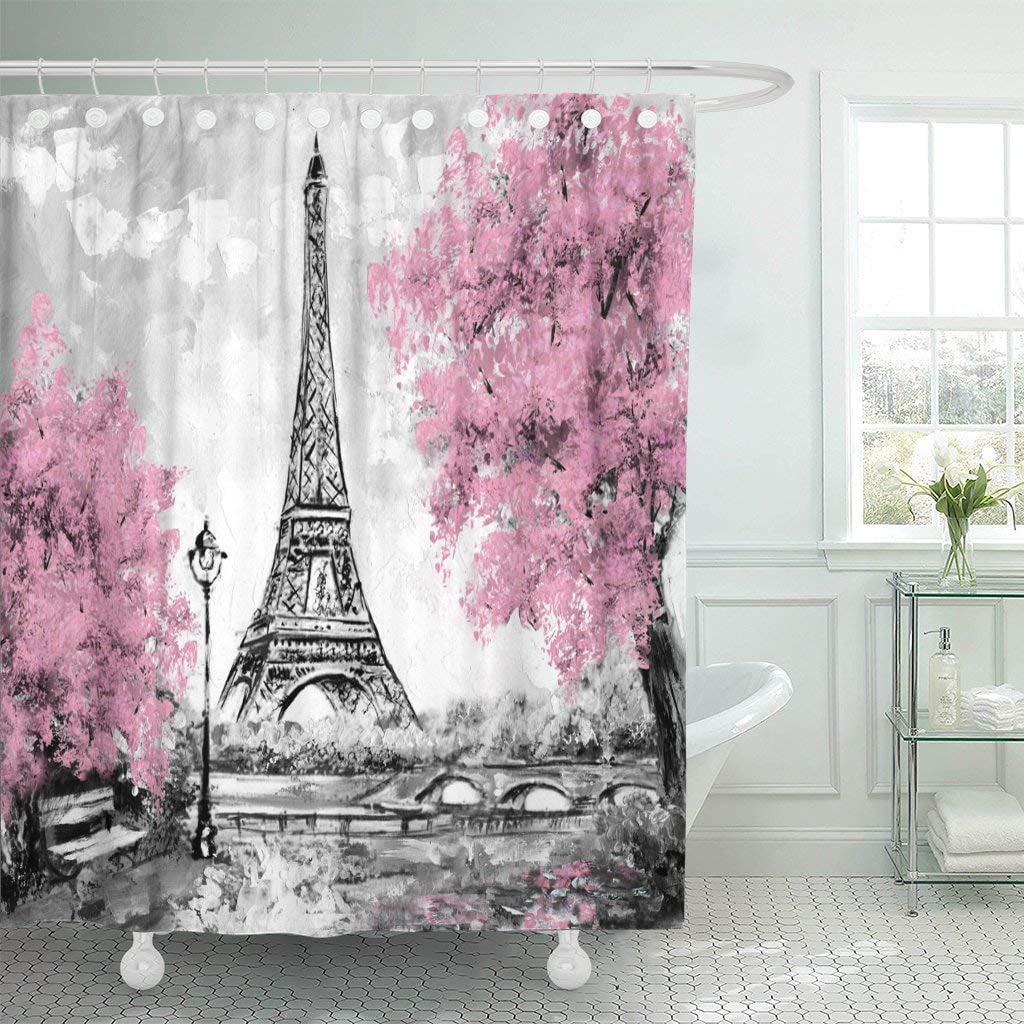 ARTJIA Oil Painting Paris European City Landscape France