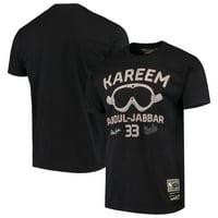 Kareem Abdul-Jabbar Milwaukee Bucks Mitchell & Ness Player Graphic T-Shirt - Black