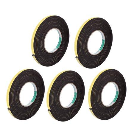 5 Pcs 10mmx4mm Single Sided Sponge Tape Adhesive Sticker Foam Glue Str