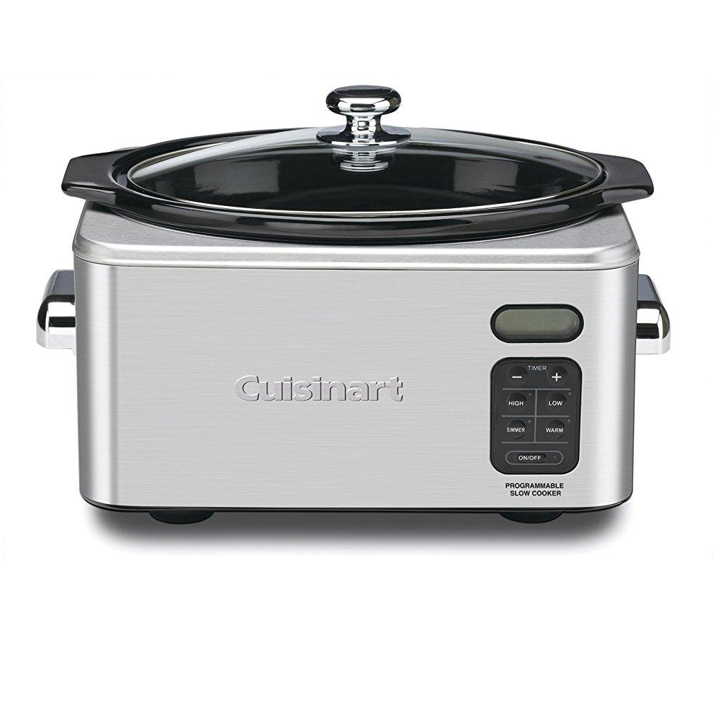Cuisinart PSC-650 Stainless Steel 6-1/2-Quart Programmhle Slow Cooker