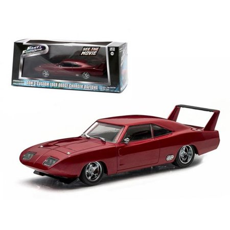 18 1969 Dodge Charger - dom's 1969 dodge charger daytona maroon fast and furious 6