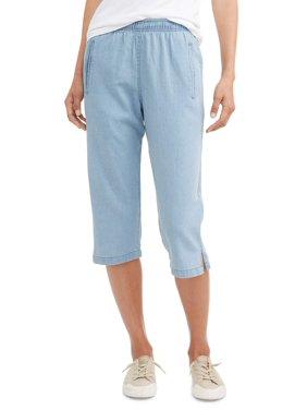 22fe7984230 Product Image Women s Pull On Denim Classic Capri Pants