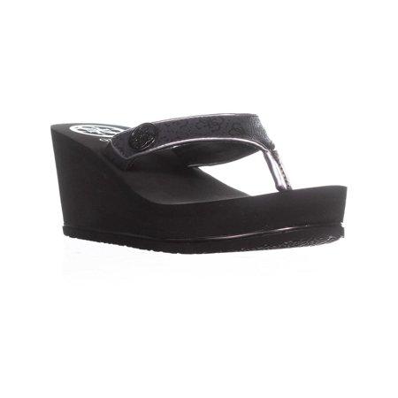 7b24839ca3c Guess - Womens Guess Sarraly Platform Wedge Thong Sandals