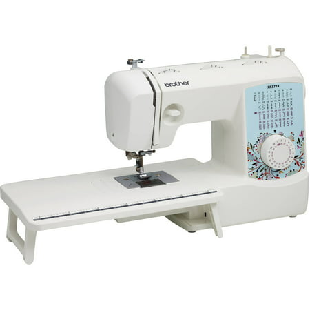 Brother 37-Stitch Full-Featured Sewing and Quilting Machine with 8 Sewing Feet, Wide Table and Instructional DVD, XR3774