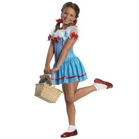 Halloween Wizard of Oz Dorothy Child Costume - Childs Dorothy Wizard Of Oz Costume