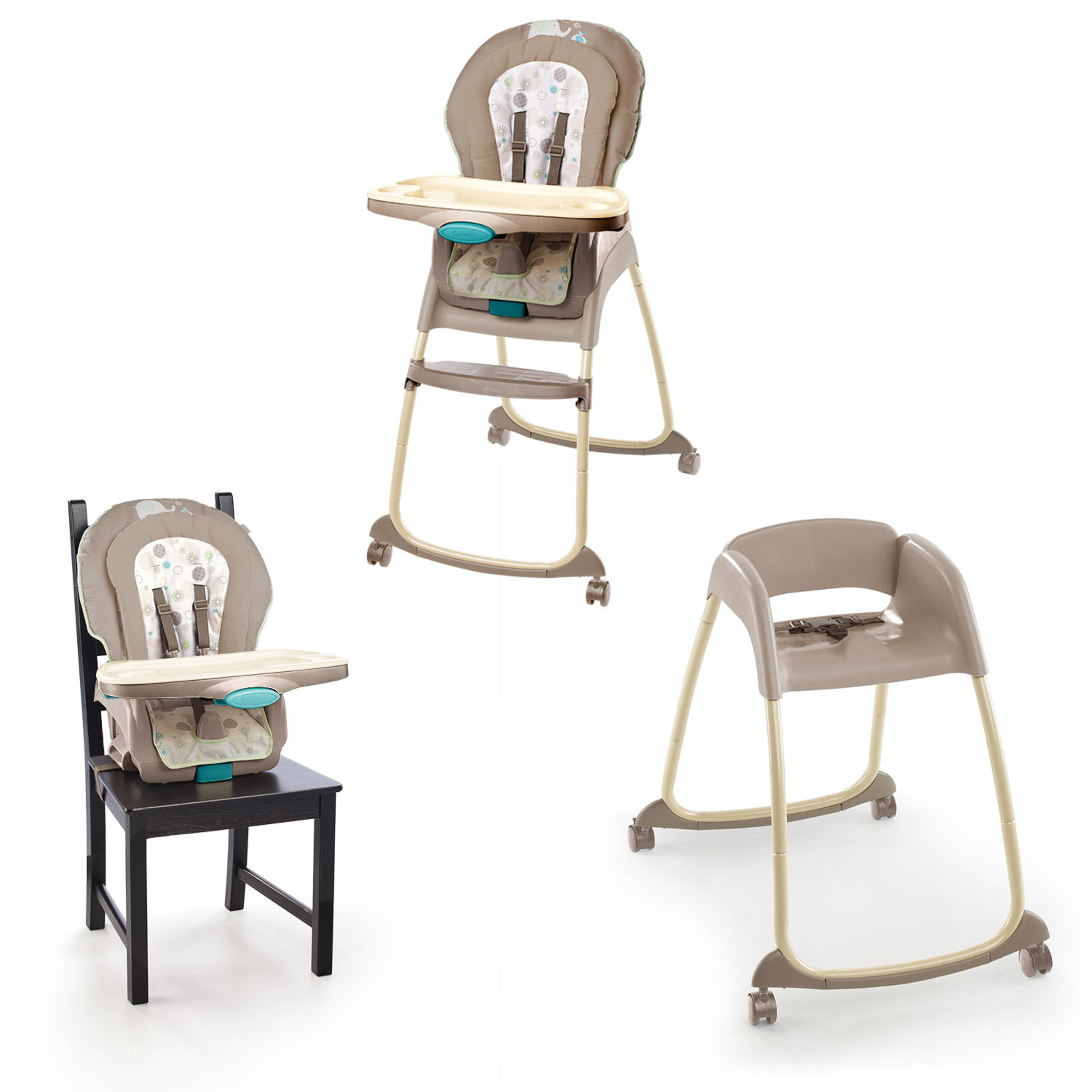 Ingenuity Trio 3 In 1 Deluxe High Chair   Sahara Burst