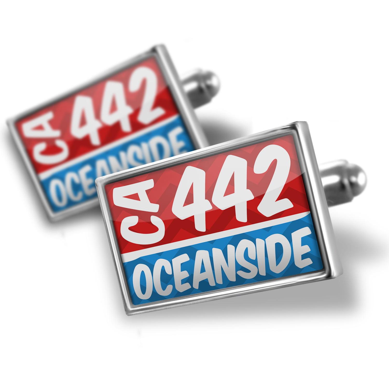 Cufflinks 442 Oceanside, CA red/blue - NEONBLOND