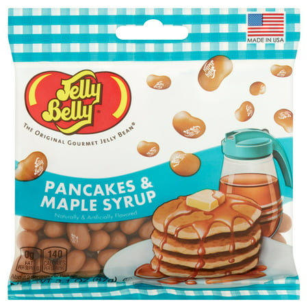Jelly Belly, Pancakes And Maple Syrup Jelly Bean 3.1 Oz (Maple Candy)