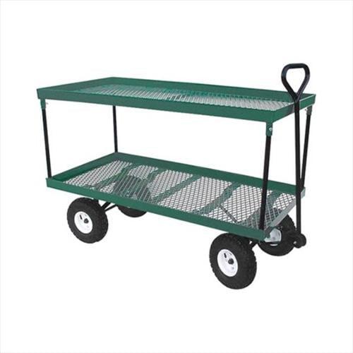 TekSupply 110052 EZ-Haul Extra Large Double Deck Wagon