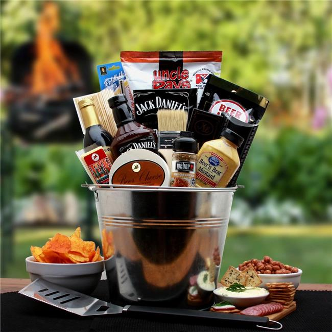 Gift Basket Drop Shipping BBQ Lovers Gift Pail