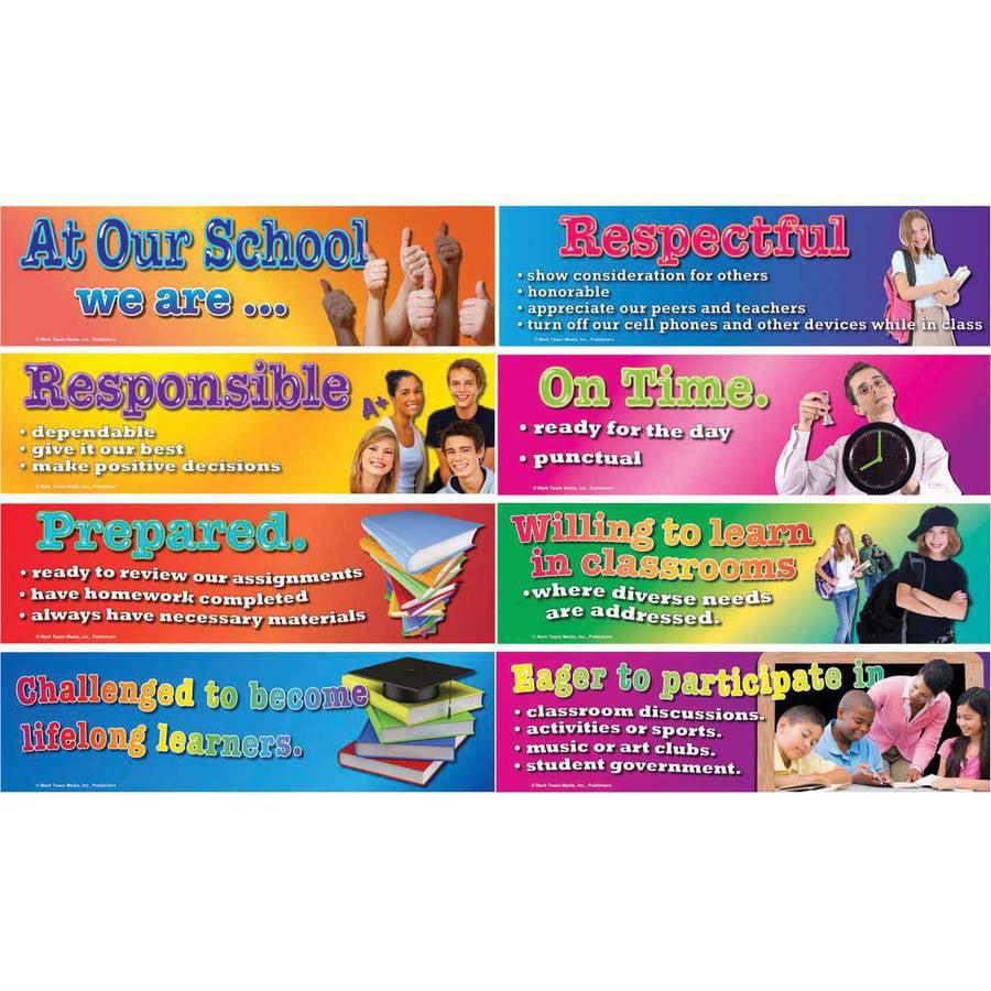 Mark Twain Character At Our School Design Bulletin Board Set