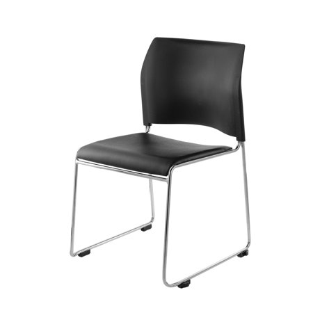 National Public Seating Flipper Table and Vinyl Padded Stack Chair Training Pack