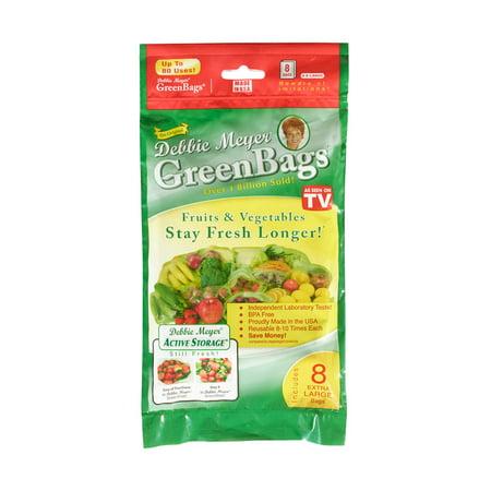 Debbie Meyer Green Bags, X-Large, 8-Pack -  KD-5130095