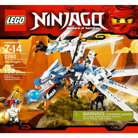 Lego Ninjago Black (LEGO Ninjago, Ice Dragon Attack Play)