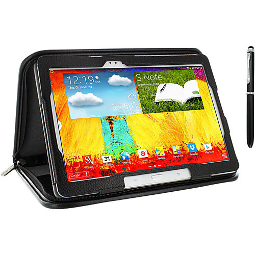 rooCASE Galaxy Note 10.1 2014 Edition: Executive Leather Case