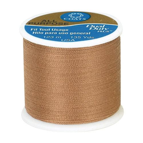 Coats & Clark All Purpose Thread, 135 yds, Maple Sugar