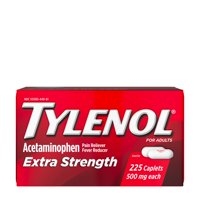 Tylenol Extra Strength Caplets with 500 mg Acetaminophen, 225 ct