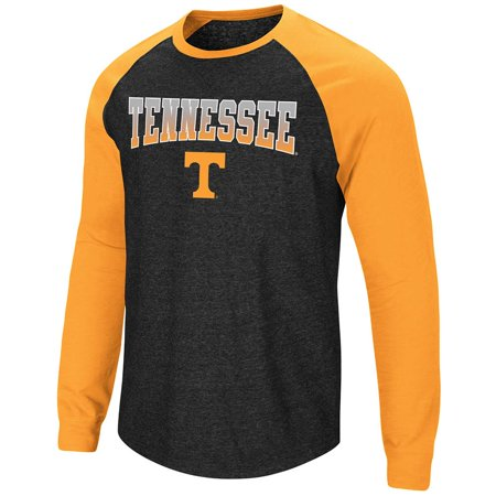 (Mens Tennessee Volunteers Long Sleeve Raglan Tee Shirt - M)