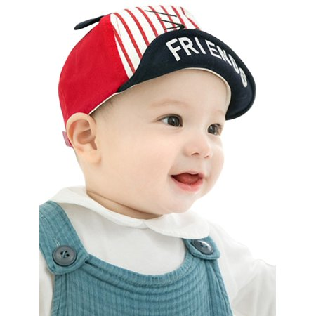 a7a9b8d30f9 SWEETLIFE Kids Baby Boy Girl Cute Cartoon Ears Baseball Cap Letter Sun Hat  - Walmart.com