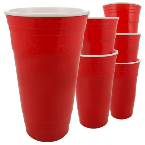 Great Lakes Select Insulated Party Cup 32 oz. Red