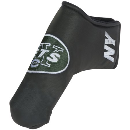 New York Jets Black Putter Blade Cover - No Size ()