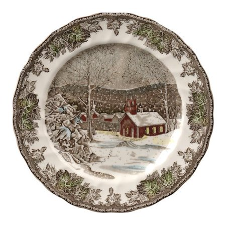- Johnson Brothers Friendly Village 10-Inch Dinner Plate