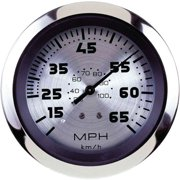 "Sierra Sterling Series 3"" Stainless Steel Pitot Type Speedometer Gauge with ""G"" Sender Code"