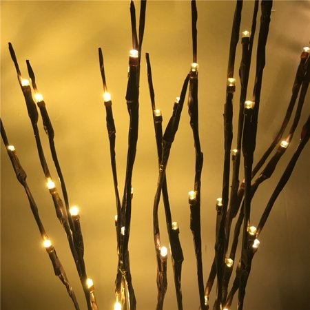 Lighted Twig Branches 60 Led New Lights Artificial Tree Plants
