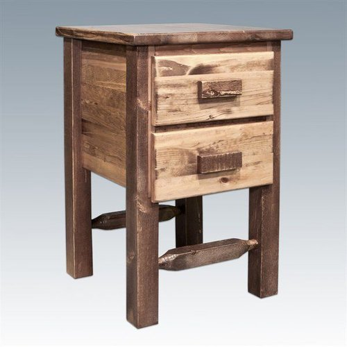 MWHCN2DN Homestead Nightstand with Two Drawers