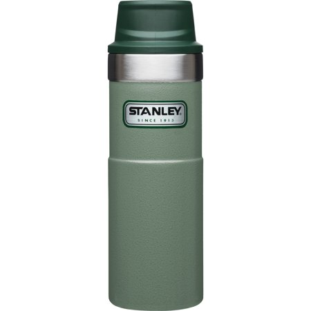 Stanley Classic 16oz Trigger-Action Travel Mug Green