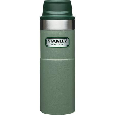 Stanley Classic 16oz Trigger-Action Travel Mug (Green Travel Mug)