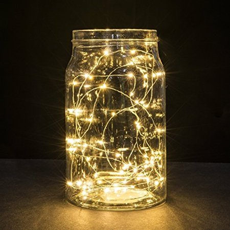 Seicosy 20 Leds Super Bright String Lights Battery Ed Warm White Waterproof Decorative Indoor Led Starry