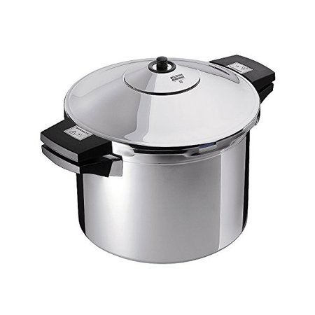 kuhn rikon stainless steel pressure cooker 8 qt. Black Bedroom Furniture Sets. Home Design Ideas