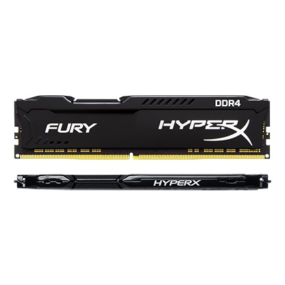 Kingston Technology HyperX FURY Black 32GB 2933MHz DDR4 CL17 DIMM 1Rx8 (Kit of 4) HX429C17FBK2/32