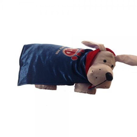 Super Dog Costume - Blue Velvet Cape Size Small 5 - 15 lbs by - Target Dog Commercial Halloween