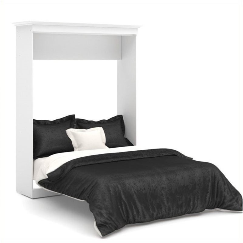 Bowery Hill Queen Wall Bed in White