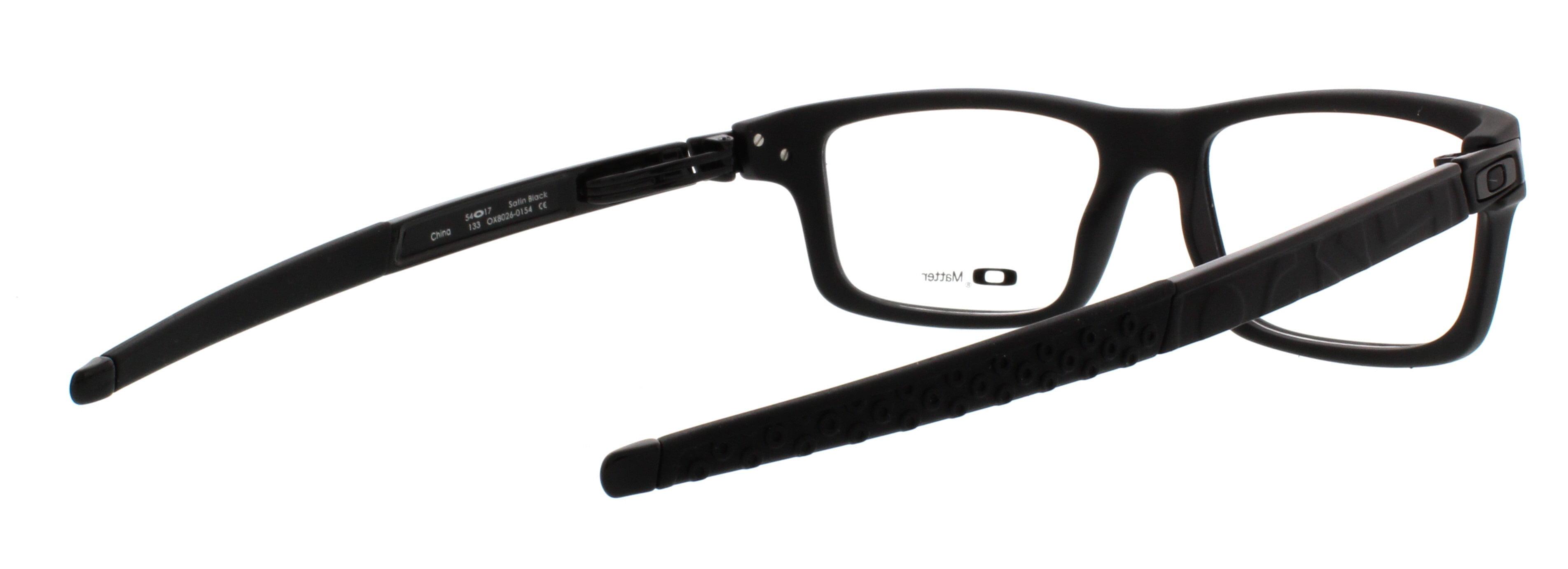a3ebd7b134 Oakley Currency OX8026 01 54mm Unisex Rectangular Eyeglasses - Walmart.com