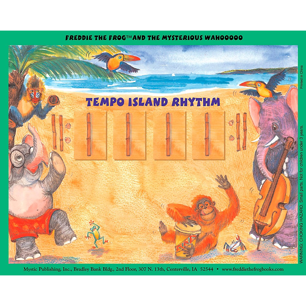 Hal Leonard Freddie The Frog And The Mysterious Wahooooo - Magnetic Rhythm Board Set