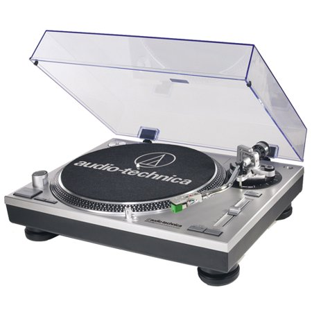 Audio-Technica AT-LP120-USB Direct-Drive Professional Turntable (USB & Analog) by