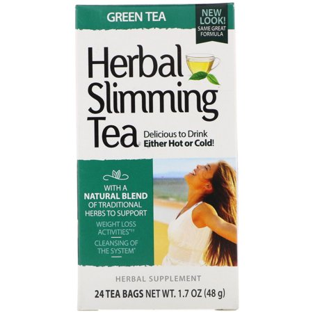 21st Century 21st Century  Herbal Slimming Tea, 24 ea Chinese Herbal Slimming Tea