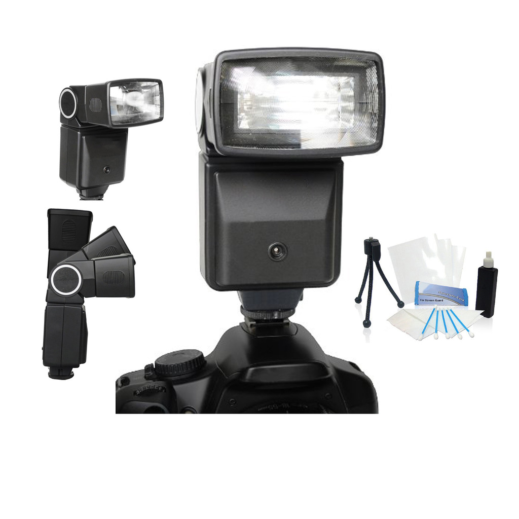 Digital Professional Automatic Flash for Canon T6i T6s DSLR Cameras